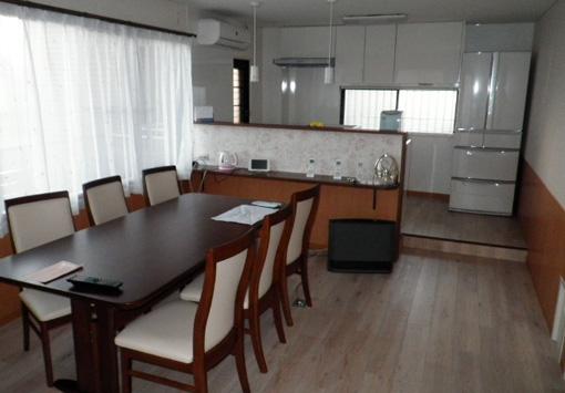 ゆったりとした広がりのあるマンションの1フロアルームの醍醐味を生かした改修2