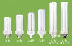 コンパクト型蛍光灯